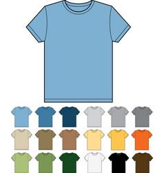 T-shirt blank vector