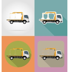 Transport flat icons 21 vector