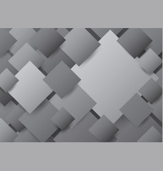 abstract overlapping square background vector image