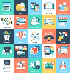 Business Concepts Icons 1 vector