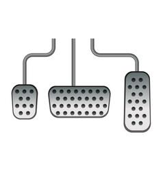 Car pedals vector