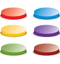 color button vector image