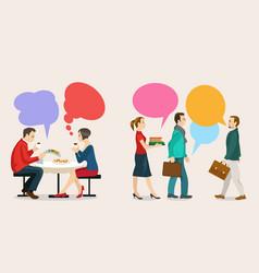 Dialogue and consensus vector