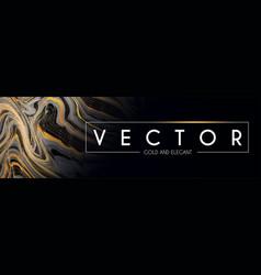 elegant marble textured header design template vector image