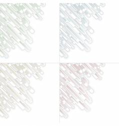 abstract graphic panels vector image