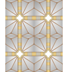 medieval cathedral ceiling vector image