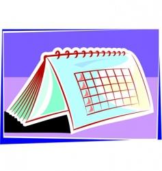 planner vector image vector image