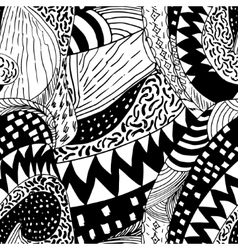black and white sketch vector image