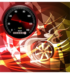 The speed vector image