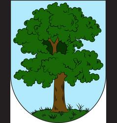 Coat of arms of city hillerod in denmark vector