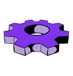 Cog settings icon icon cartoon vector