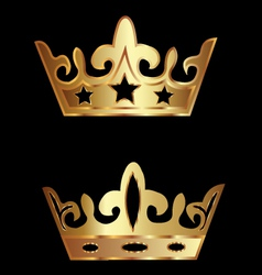 Crowns royalty vector