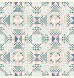 Imitation of a patchwork vector