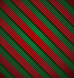 Christmas mosaic background vector image vector image