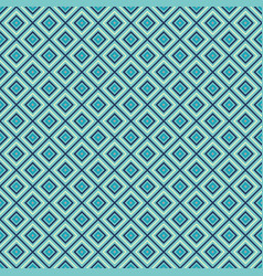 blue rhombuses seamless pattern vector image