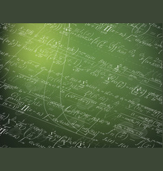 mathematics background vector image