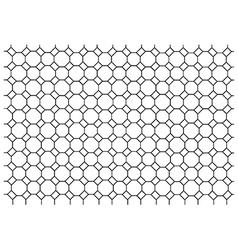 Octagon pattern wallpaper vector