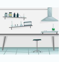 scientific laboratory medical equipment scientist vector image