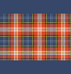 seamless pattern fabric texture tartan plaid vector image