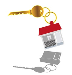Sell House key vector image