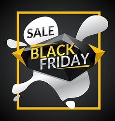 Black friday Big sales vector image