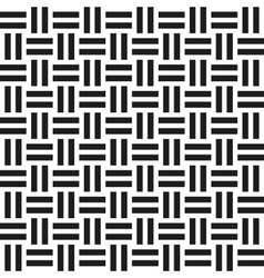 Abstract wicker seamless pattern vector image