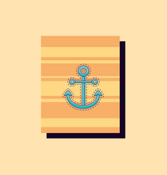 anchor icon image vector image
