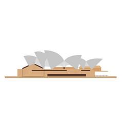australia landmark architecture vector image