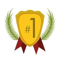 award badge icon vector image