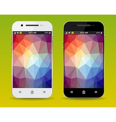 Cellphones vector image