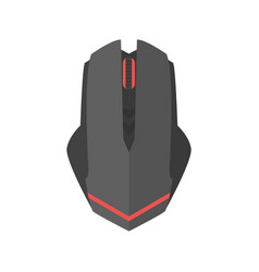 computer mouse icon scrolling equipment vector image