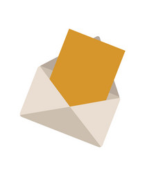 Envelope message web online communication vector