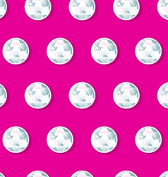 Girls diamond sequins in a seamless pattern vector image
