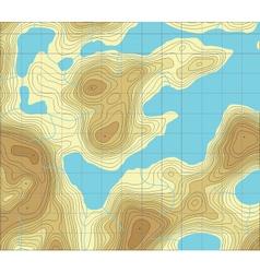 lakeland map vector image