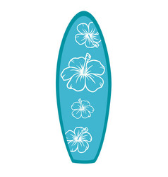 surf table vector image