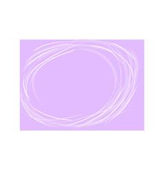 Violet round grange background minimalism vector