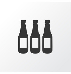 beer icon symbol premium quality isolated ale vector image vector image