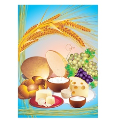 shavuot vector image