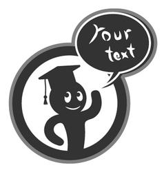 Academic symbol vector