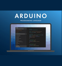 Arduino programming language vector