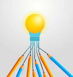 Brainstorming for idea vector