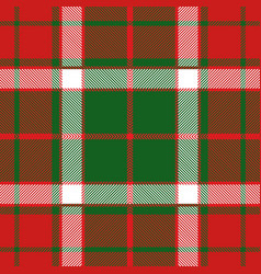 Christmas tartan plaid seamless pattern vector