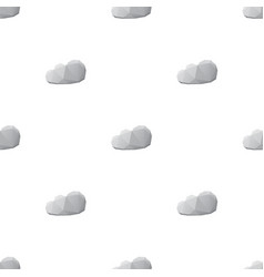 cloud sky triangle pattern backgrounds vector image