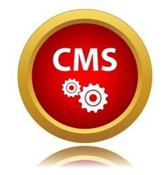 Cms icon vector