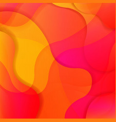 colorful bright background with line vector image