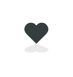 heart icon perfect love symbol valentine vector image