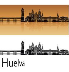 Huelva skyline vector