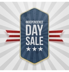 Independence Day Sale festive Badge vector image