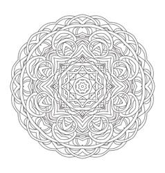 Mandala Vintage hand drawn decorative vector