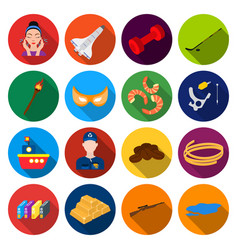 Travel industry business and other web icon in vector